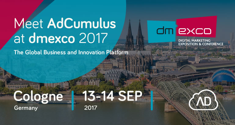 Meet AdCumulus at dmexco 2017!