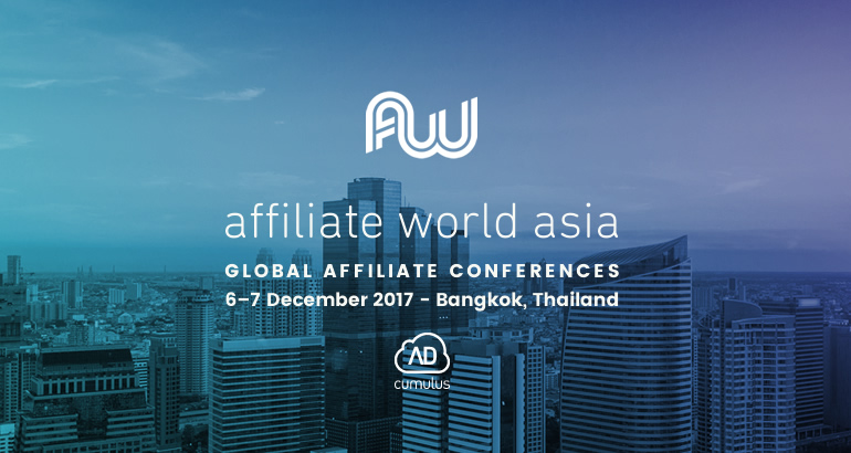 AdCumulus is attending Affiliate World Asia! See you there?